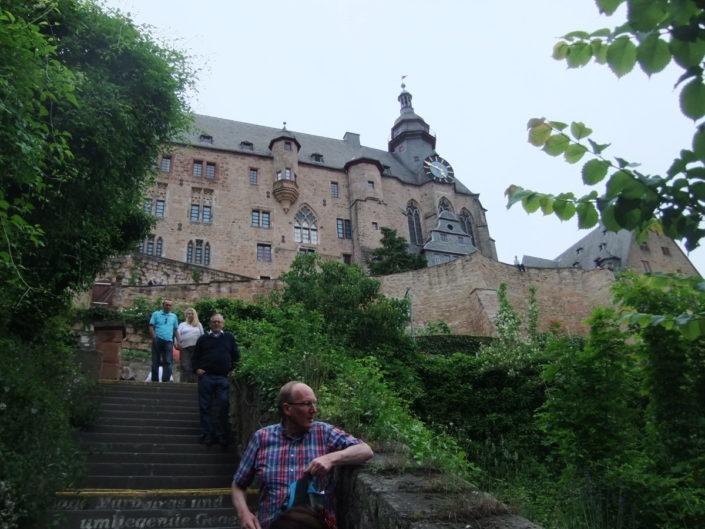 Nach der Schlossbesichtigung