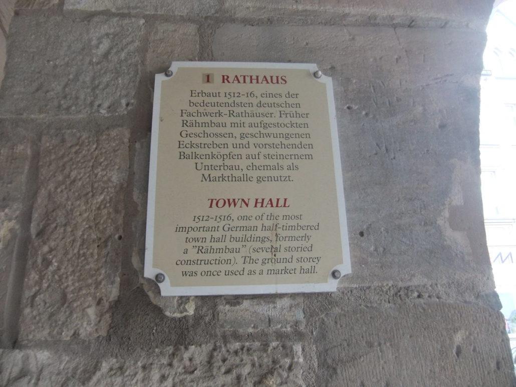 Stadtführung in Alsfeld im alten Rathaus