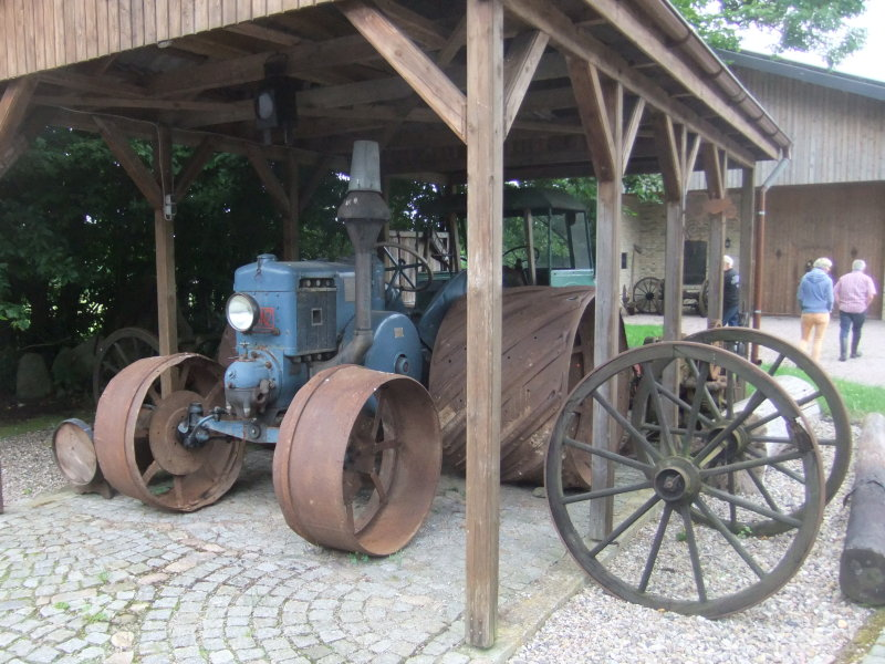 Im Lanz-Bulldog Museum