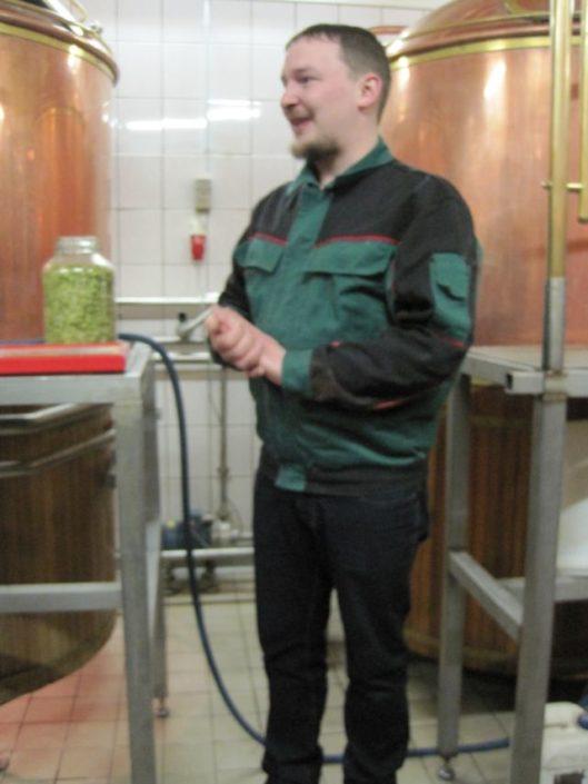 Der Juniorchef der Brauerei