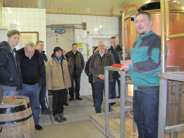 Besichtigung der Landbrauerei Rickling